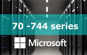 70-744 – Securing Windows Server 2016 Online Training Series